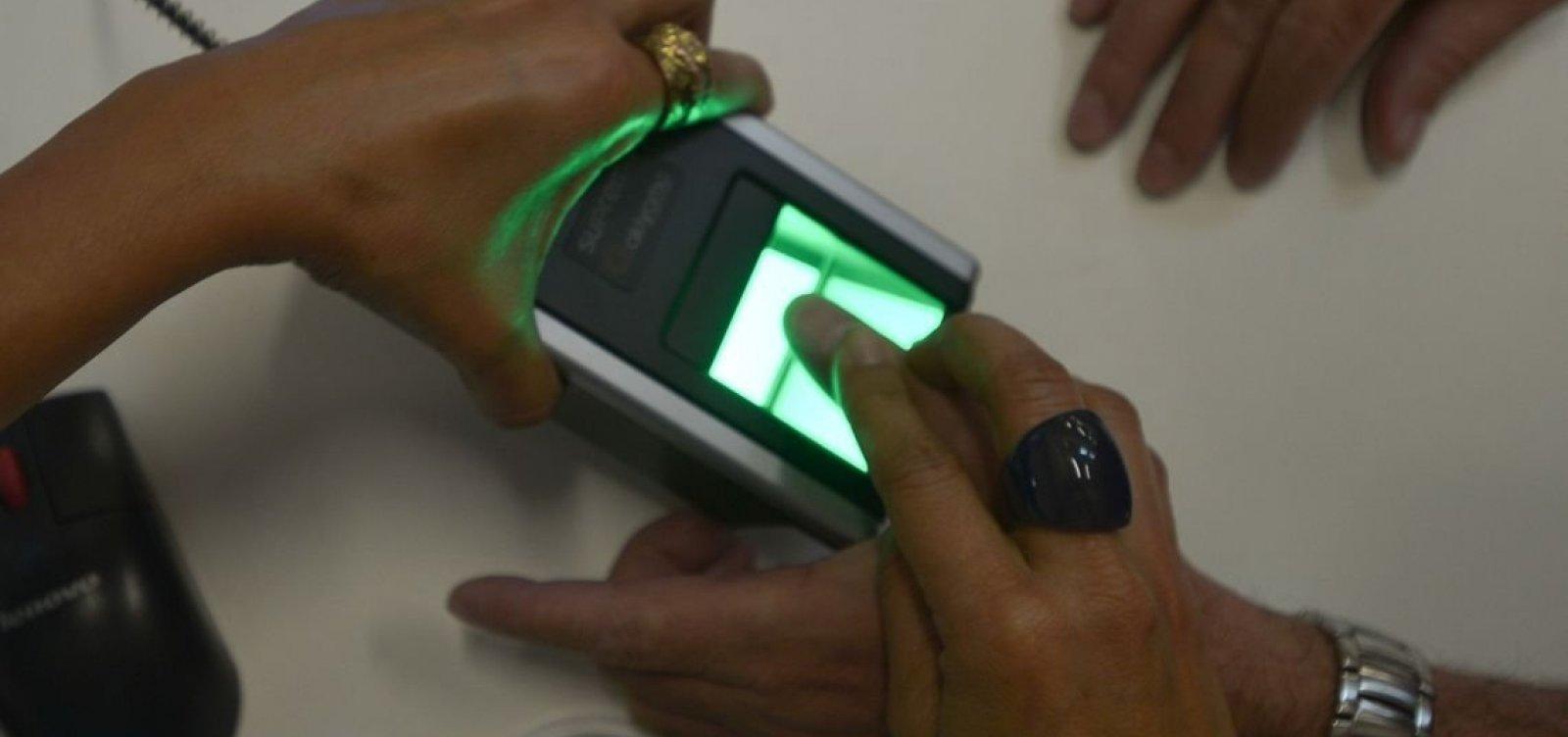 Recadastramento biométrico em 242 municípios segue até 18 de fevereiro