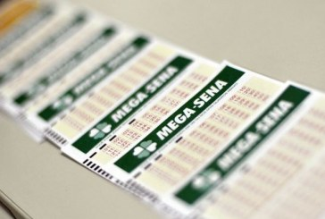 Duas apostas acertam seis dezenas da Mega e dividem R$ 200 milhões