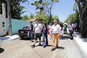 Prefeita vistoria obras de pavimentação que vão garantir mais conforto e mobilidade em Pitangueiras e Itinga