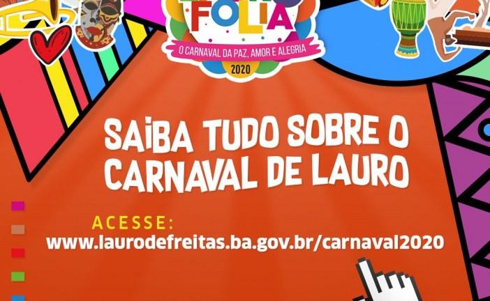 Carnaval de Lauro de Freitas tem site oficial com programação da folia