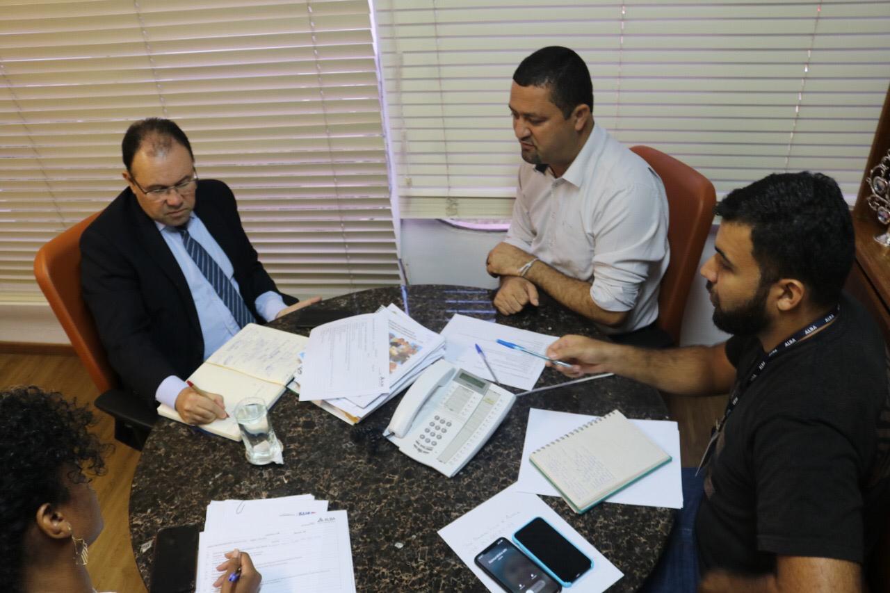 Deputado Osni se reúne com presidente da CAR e apresenta demandas de municípios do interior