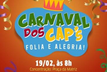 Lauro Folia 2020 – Bloco Folia e Alegria leva usuários dos CAPS para brincar o Carnaval na praça