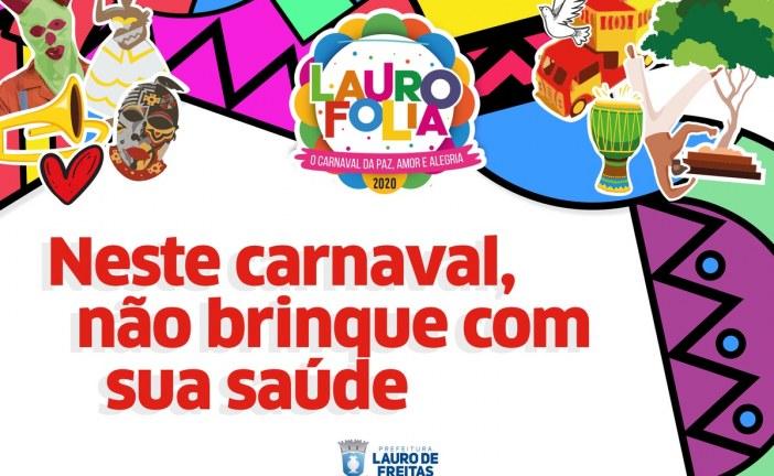LAURO FOLIA 2020: Testes rápidos para ISTs serão realizadas durante o carnaval