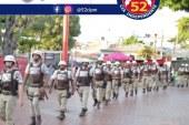 52ª CIPM de Lauro de Freitas garantiu a segurança no Lauro Folia, que foi de muita paz e alegria