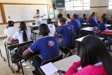 Começam segunda-feira (10) as aulas na rede estadual de ensino
