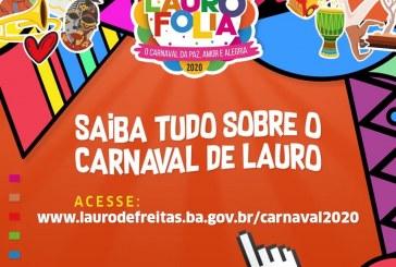 Quer saber tudo que vai rolar no Carnaval de Lauro de Freitas?