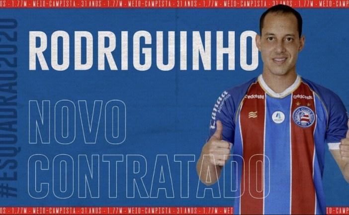 Bahia acerta a contratação do meia Rodriguinho