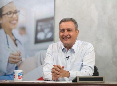 Bahia tem 14 pacientes curados do novo coronavírus, revela Rui Costa