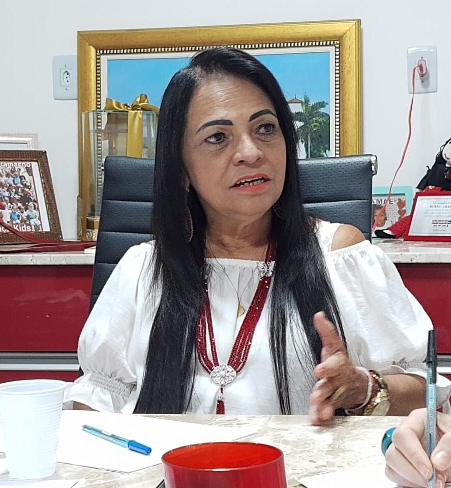 Prefeita Moema Gramacho promove encontro online com a imprensa, nesta sexta (27), às 10:30