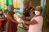 52ª CIPM de Lauro de Freitas realiza rondas nas Escolas Municipais e acompanha a distribuição dos Kits Alimentação para os alunos