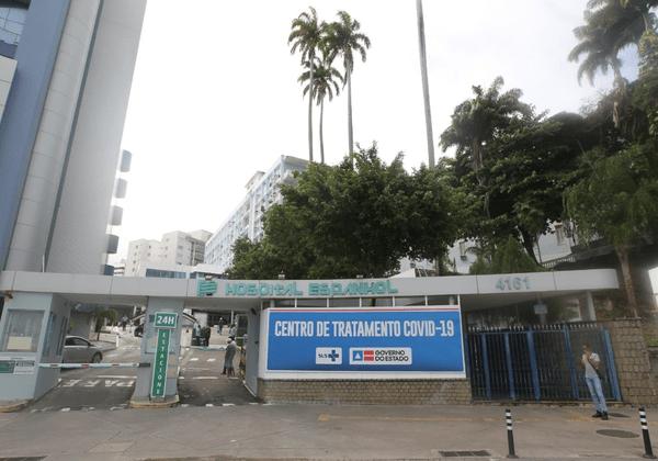 Hospital Espanhol começa a receber pacientes com coronavírus nesta quarta