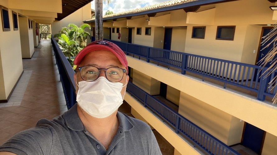 Centro de Recuperação para pacientes com Covid-19 na Bahia, no antigo hotel Riverside em Lauro de Freitas, fica pronto