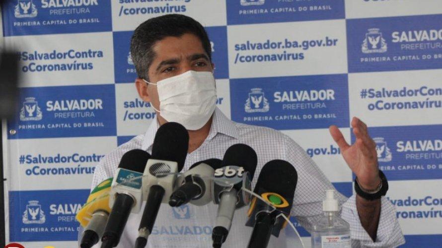 """ACM Neto prevê """"colapso"""" no sistema de Saúde em Salvador em maio se não houver contenção de casos do Covid-19"""