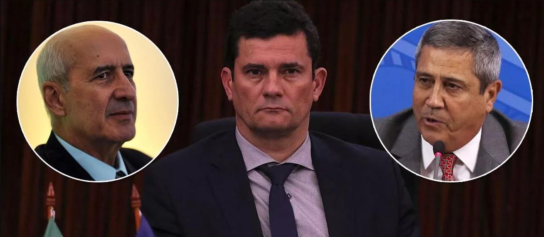 General Ramos e Braga Netto tentam convencer Moro a ficar no governo