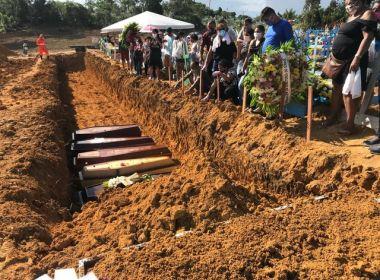 Com recorde de sepultamentos em Manaus, Amazonas possui urnas para mais 10 dias