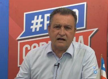 Rui Costa anuncia cancelamento do São João e prorrogação da suspensão das aulas