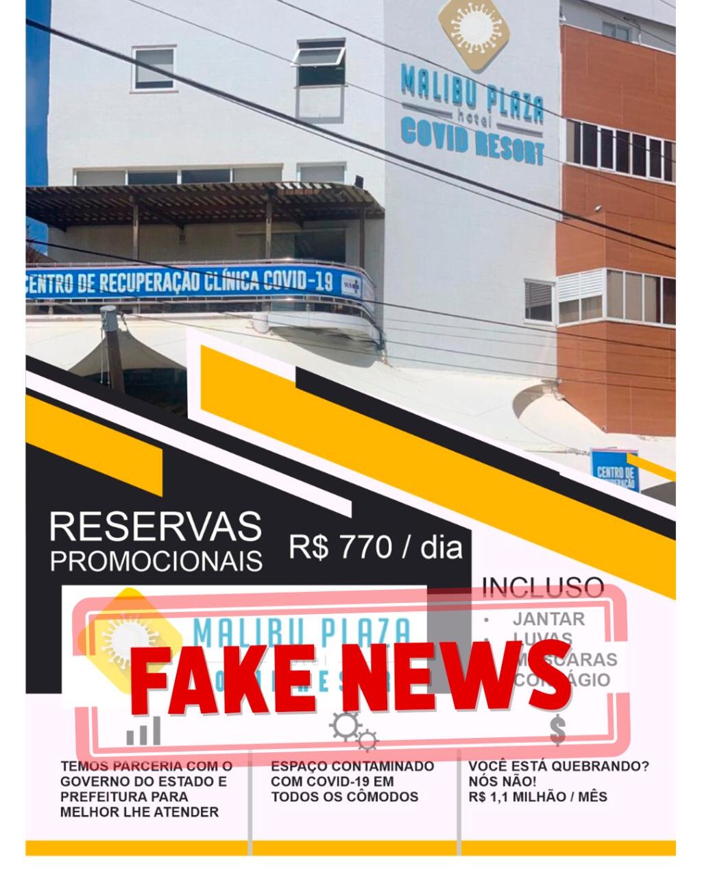 Fake News tenta envolver Prefeitura no caso Malibu
