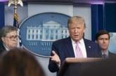 'Não queremos outros conseguindo máscaras', diz Trump sobre equipamentos contra o coronavírus