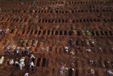 6.821 mortes em 7 dias: Brasil tem semana com mais óbitos desde o início da pandemia