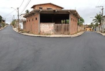 Ruas de Itinga ganham pavimentação asfáltica e outras 33 vias de Lauro de Freitas seguem em obras