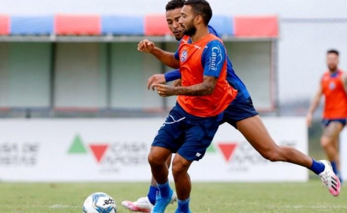 Com atividades técnicas e táticas, elenco do Bahia segue preparação para reinício da temporada