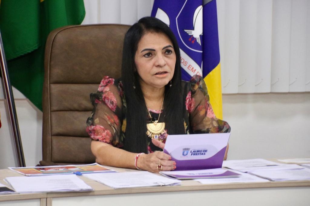 Comércio em Lauro de Freitas será reaberto até o início de agosto, garante prefeita Moema Gramacho