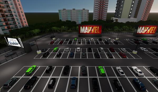 Drive-in com cinema e shows será inaugurado em Salvador; veja programação