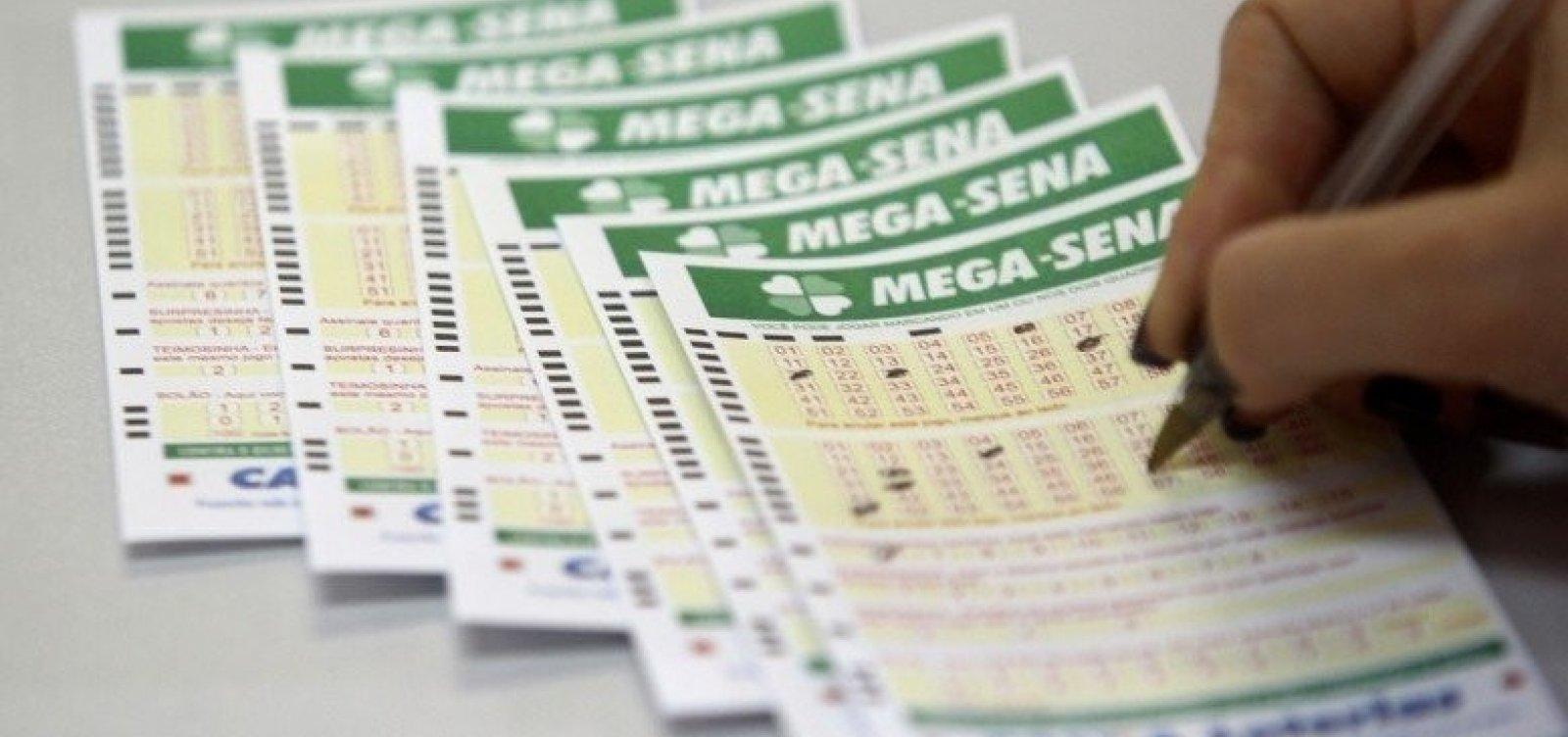 Mega-Sena sorteia R$ 23 milhões nesta quarta