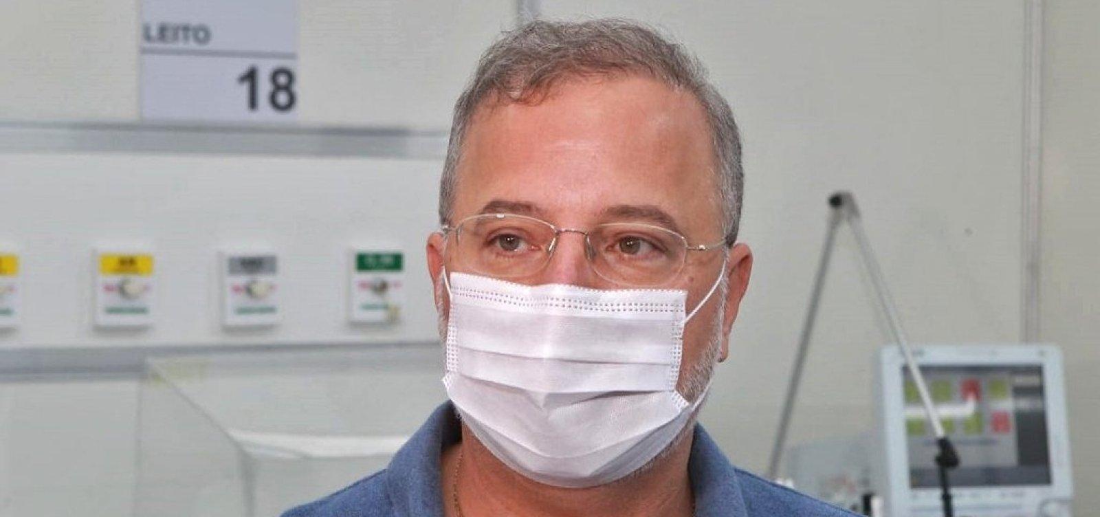 Bahia deve ter 200 novos leitos para Covid-19 nos próximos dias, diz secretário