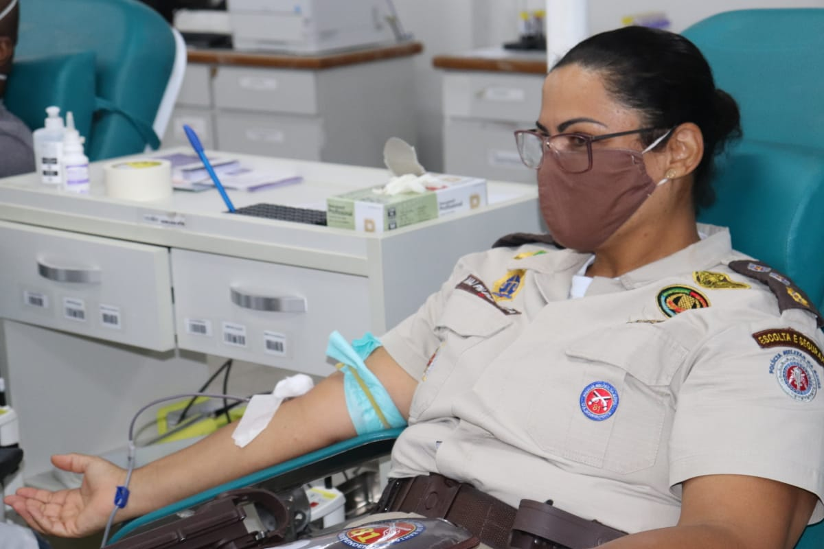 81ª CIPM/Itinga inicia campanha de doação de sangue