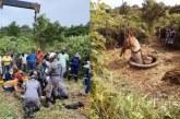 Homem e cavalo caem em poço de 20 metros e ficam feridos; vítima conseguiu ligar para amigos