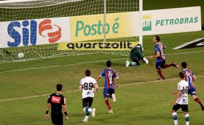 Com gol de Rodriguinho, Bahia derrota o Coritiba em Pituaçu
