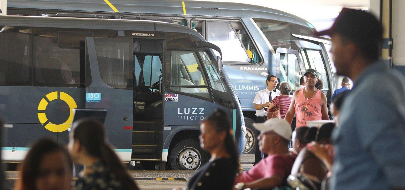 Bahia tem mais dois municípios com transporte intermunicipal suspenso