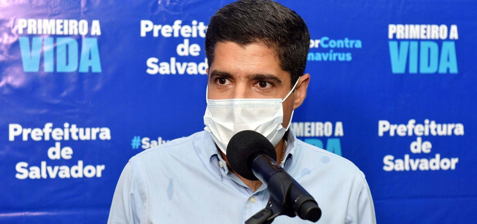 Salvador registra 38% de ocupação de leitos de UTI e prefeito enxerga situação 'controlada'