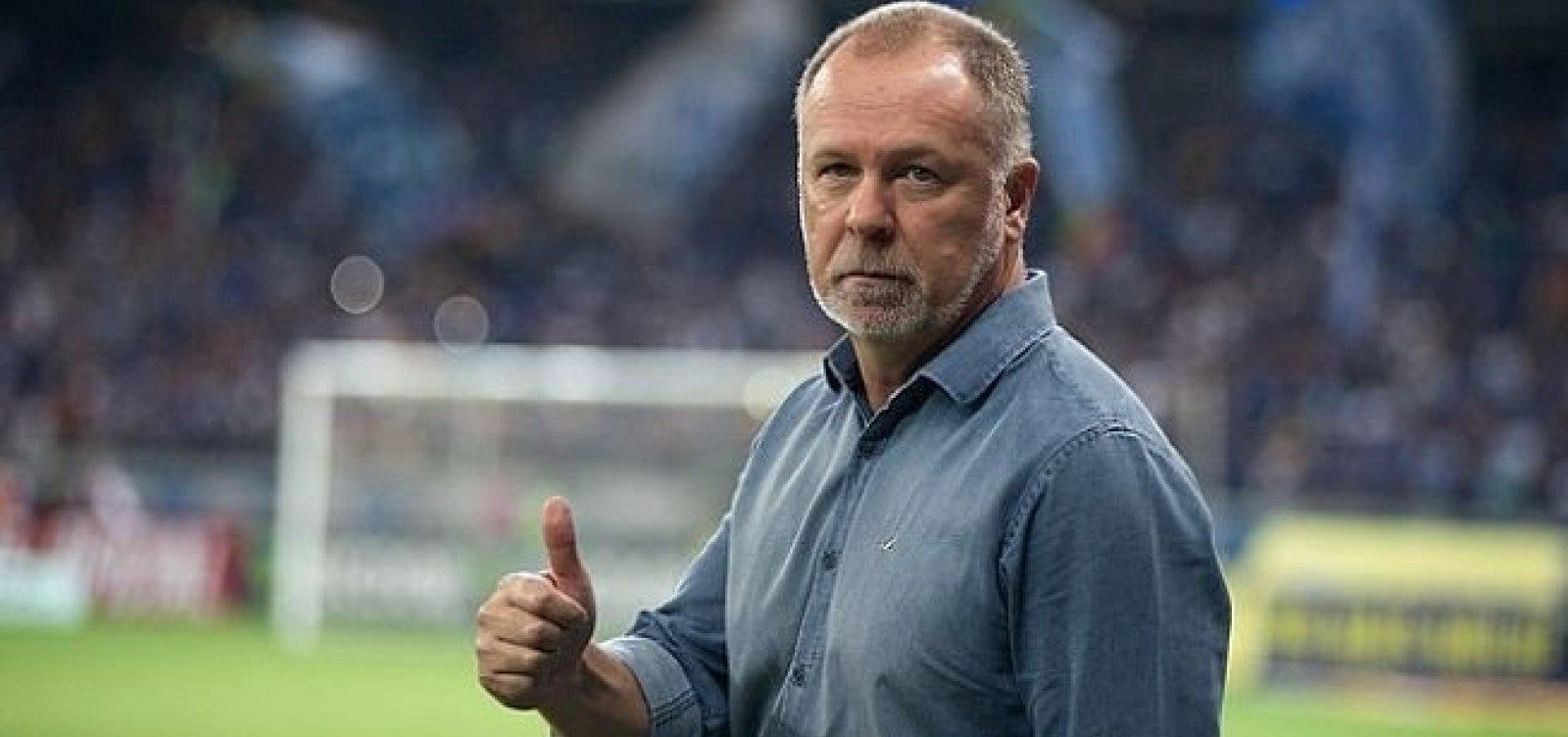 Bahia anuncia oficialmente Mano Menezes como novo treinador
