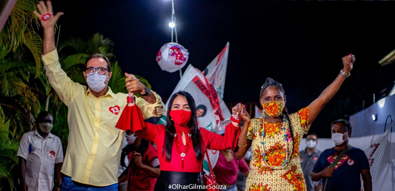 Candidata à vereadora, Mãe Cacau (PT) inaugura Comitê Político em Pitangueiras