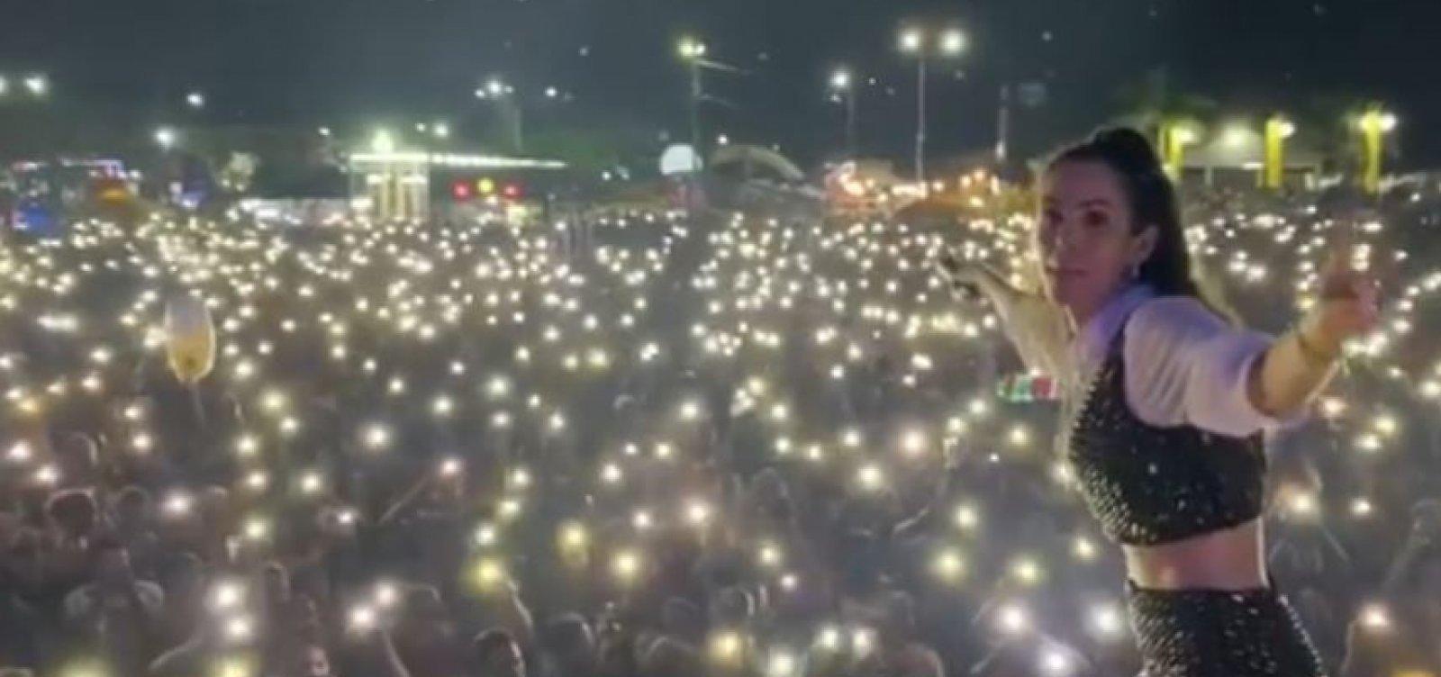 Prefeitura no Pará faz show com aglomeração em retomada no estado