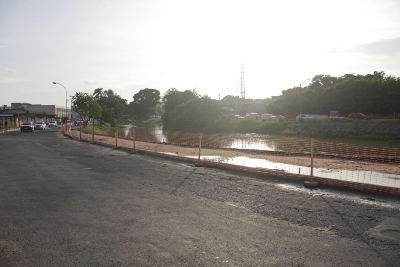 Ainda em execução, obras de macrodrenagem já evitaram que as fortes chuvas desta sexta (20) causassem alagamentos em Lauro de Freitas