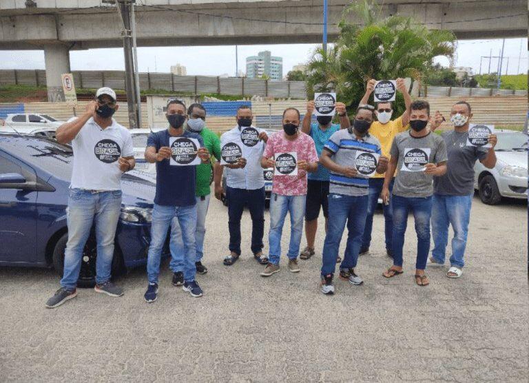 Motoristas por aplicativo de Salvador e Lauro de Freitas organizam manifestação, nesta segunda (01)