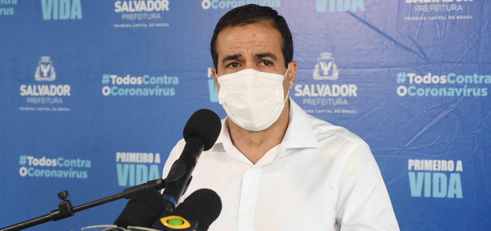 'Não hesitaremos em fechar tudo', diz Bruno Reis sobre lockdown na Bahia e em Salvador