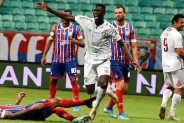 Bahia perde para o Fluminense e segue com risco de rebaixamento no Brasileirão
