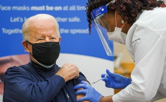 Presidente dos EUA garante vacina para todos norte-americanos até julho deste ano