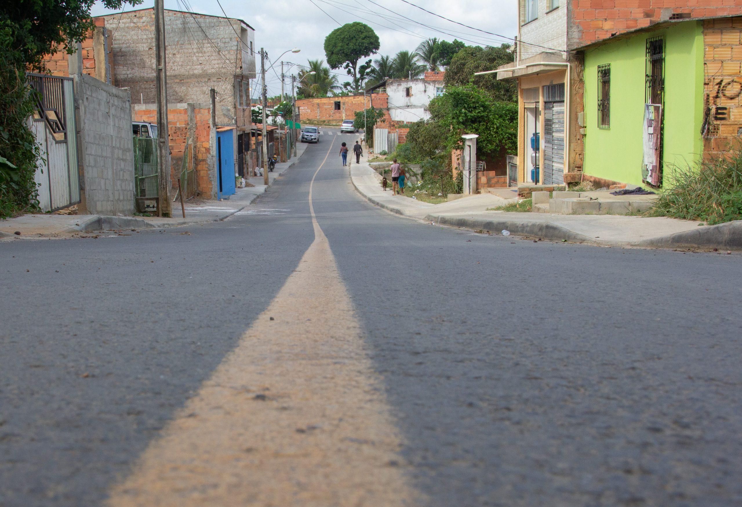 Prefeitura entrega obras de pavimentação no Bairro do Caji neste sábado (20)