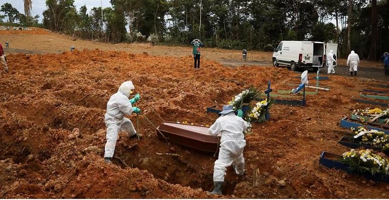 Covid-19: Brasil tem 1.699 mortes em 24h e passa das 260 mil
