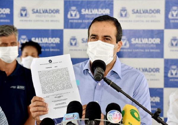 Bruno Reis indica que vai prorrogar medidas de restrição em Salvador