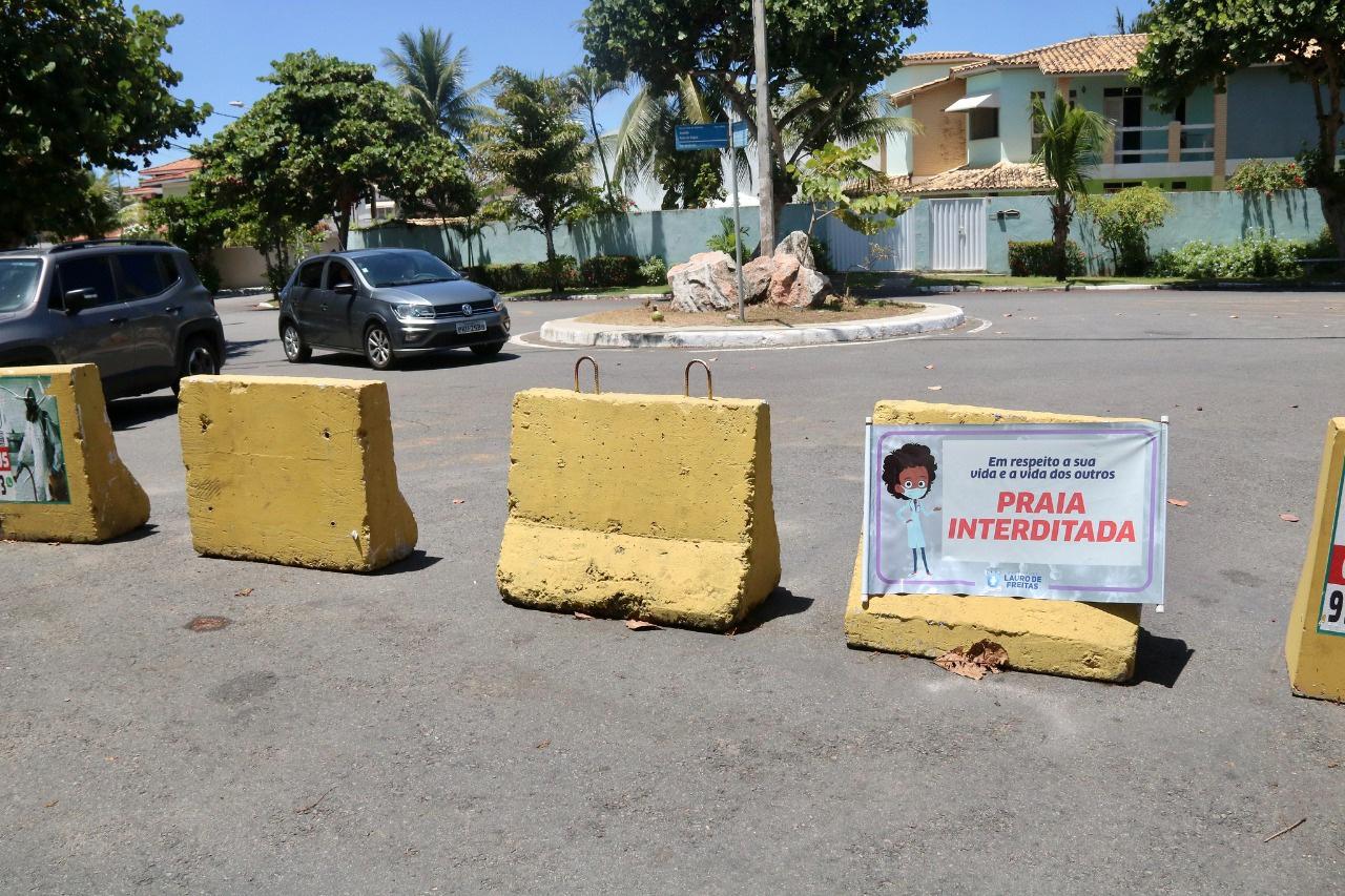 Lauro de Freitas prorroga decretos e medidas restritivas seguem até 5 de abril