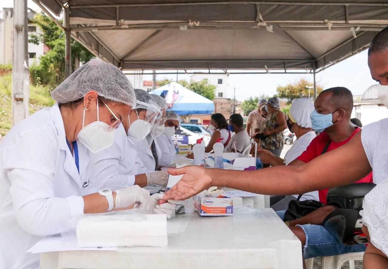 Prefeitura instala barreira sanitária em Itinga e 37 pessoas testam positivo para a COVID-19