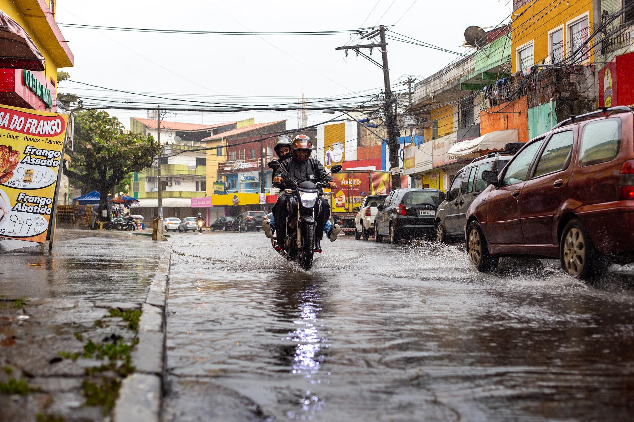 Previsão de mais chuvas em Lauro de Freitas ao longo da semana