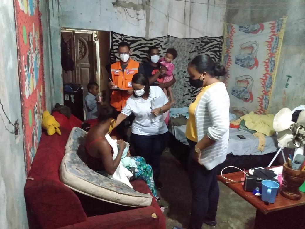 Equipes da Prefeitura de Lauro de Freitas seguem em alerta para minimizar os efeitos das fortes chuvas na cidade