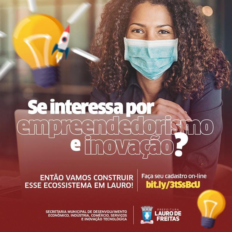 Lauro de Freitas abre cadastro para construir a primeira comunidade de inovação e empreendedorismo da cidade